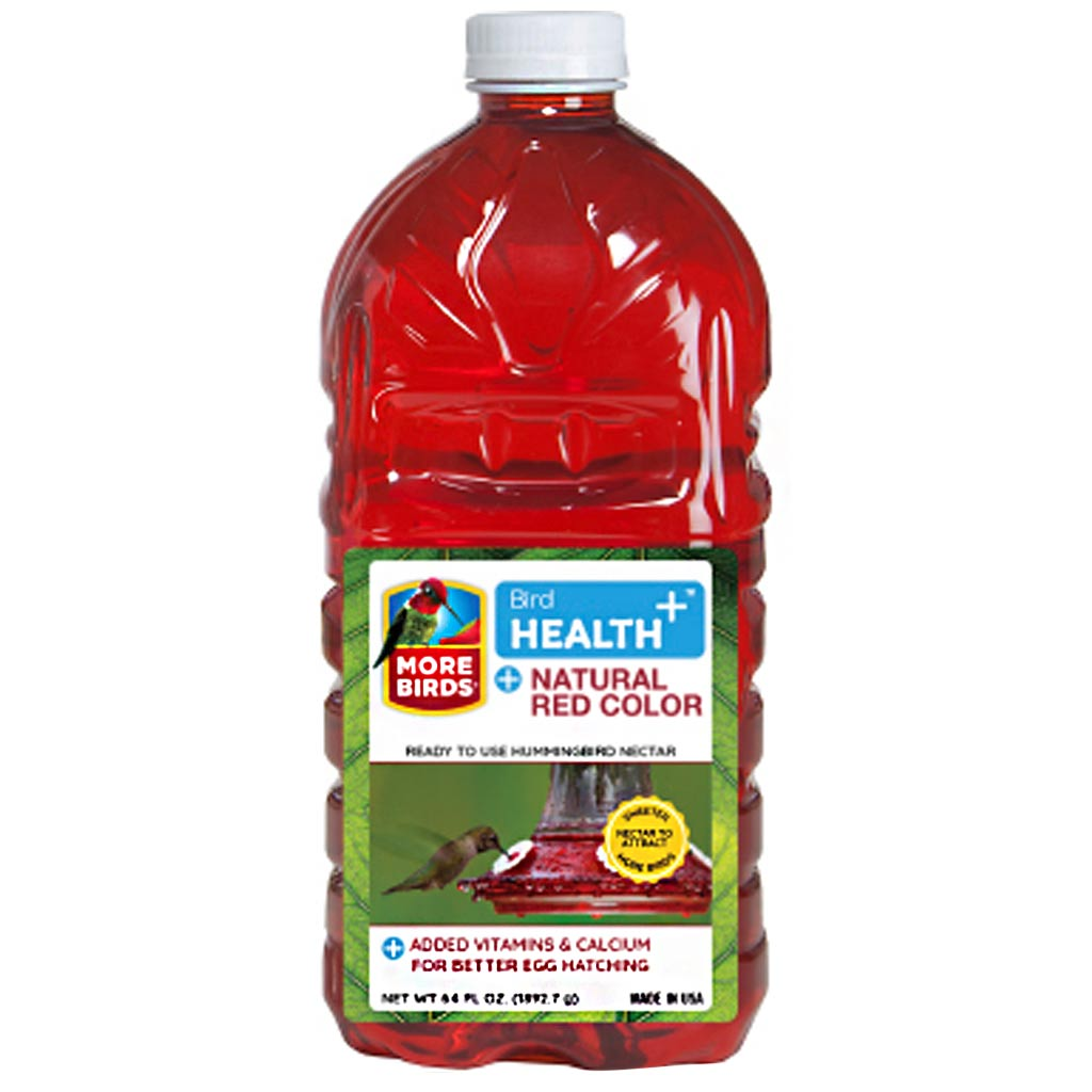 BIRD HEALTH PLUS HUMMINGBIRD RED NECTAR RTU 64OZ