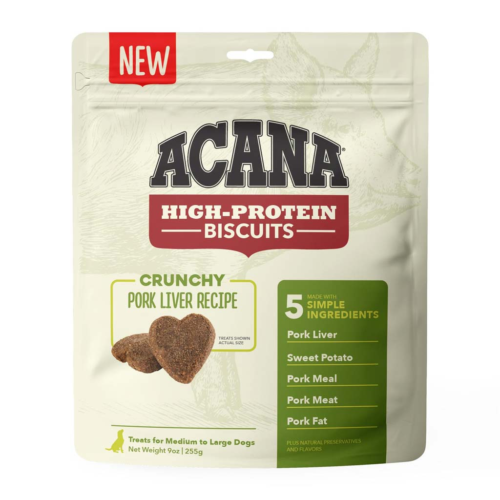 ACANA DOG CRUNCHY PORK LIVER LARGE