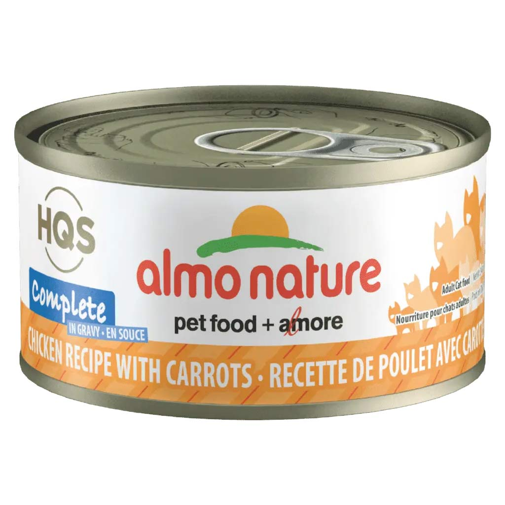 ALMO NATURE COMPLETE 70G CHICKEN WITH CARROT IN GRAVY